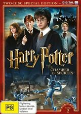 Harry Potter and the Chamber of Secrets DVD 2016 DVD Edition
