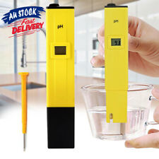 Water PH Portable Hydroponics Tester Pen Meter Aquarium Pool Digital Test Kit