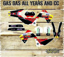 GAS GAS EC 125 250 450 98-2016 FULL GRAPHICS KIT-STICKER KIT-DECALS-GAS GAS-MX3