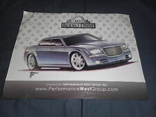 2008 Chrysler 300C Rodeo Drive Special Edition Color Sales Brochure Prospekt