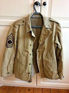 WWII US Army M-1941 Field Jacket Medium