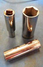 """ALLEN 11167 17mm Deep Chrome Hand Socket, 3/8"""" Drive, 6-point, Brand New, USA"""