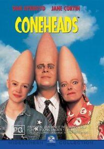 Cone Heads DVD Coneheads 1993 Dan Aykroyd Comedy Movie Cult Classic Rare AUST R4