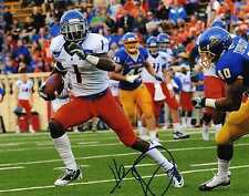 TITUS YOUNG Detroit Lions SIGNED Boise State BSU 8x10 Photo COA PROOF