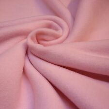 Soft Baby Pink Anti Pill Polar Fleece Fabric throw pets *Per Metre