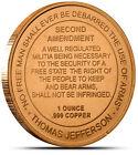 2nd Amendment Design ** 20 Coins ** 1 oz each .999 Fine Copper Bullion