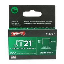 Arrow Staples for Jt21 / T27 Staple Guns 10mm