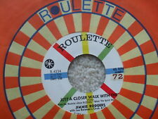Jimmie Rogers - Joshua Fit The Battle / Just A Closer Walk With Thee Roulette 45
