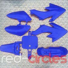 Azul CRF50 estilo PIT bike carenado plástico Set/Kit 50cc 110cc 125cc pitbike
