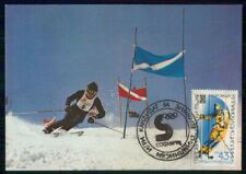 Mayfairstamps Bulgaria Down Hill Skiing Card wwi_08391