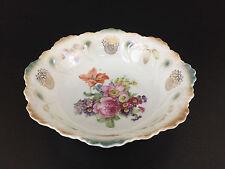 Antique porcelain lusterware serving bowl, Germany 1890's