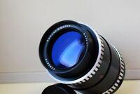 RARE ZEBRA CARL ZEISS JENA SONNAR ZEBRA DDR Germany F3.5/135 mm SLR lens M42