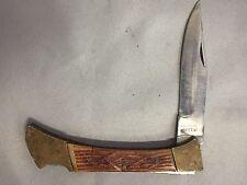 PAKISTAN LOCKBACK FOLDING POCKET KNIFE STAINLESS  BLADE HANDLE