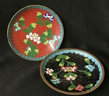 "Vintage * Cloisonne * Saucer / Plate * 4"" * 1920'S"