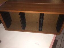 Wood Cd Cabinet 18 Slots  Storage