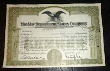 The May Department Stores 2 share stock certificate
