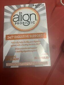 Align Probiotic Supplement - 28 Capsules - Silver Box