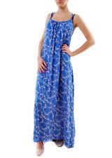 Wildfox Women's Margarette Maxi Floral Swim Dress Blue Size M RRP $151 BCF69