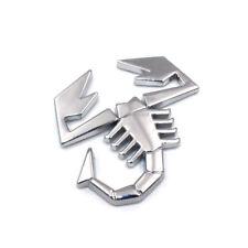 Stemma Logo Scorpione Abarth 500 695 124 Grande Punto 3D adesivo in metallo