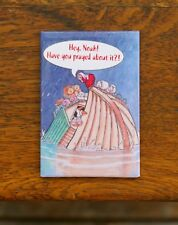 "Hey Noah Have You Prayed About It 3"" Fridge Refrigerator Magnet Margaret Sherry"