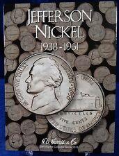 H.E. Harris Jefferson Nickel #1 1938-1961 Coin Folder, Album Book # 2679