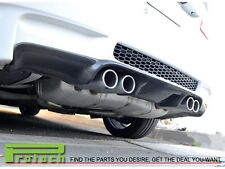 BMW E93 M3 Convertible 2008-2012 3D Add-on Style Bumper Diffuser Carbon Fiber