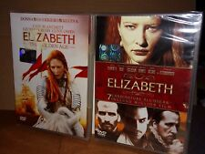 ELIZABETH + ELIZABETH THE GOLDEN AGE Lotto 2 DVD Cate Blanchett SIGILLATO!!!
