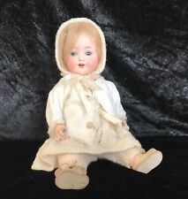 🎀 Antique Original  Heubach Koppelsdorf 320 Cabinet Size Baby Doll Twin 1 🎀