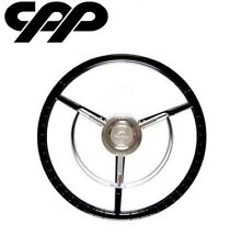 "AMERICAN RETRO 1956 1957 FORD THUNDERBIRD 15"" SPORT STEERING WHEEL"