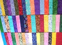 """200~2.5"""" Fabric Squares Quilting Charm Pack Pre Cut 100% Cotton Patchwork Blocks"""