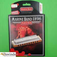 Hohner Marine Band Classic Harmonica  -  E Harmonic Minor