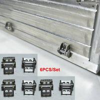 6PCS Metall Container Hinge Scharnier Set für Tamiya 1/14 Scania 56323 RC Truck