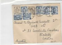 General Sir Francis Reginald Wingate 1948 Belgium multi Stamps Cover ref R 17345