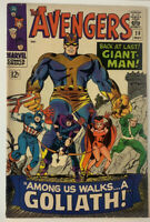 Avengers (1963) #28 Giant Man becomes Goliath & 1st Collector in 5.0 VG/FN