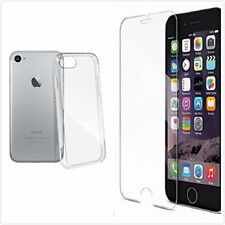 COQUE HOUSSE ETUI Anti-choc GEL TRANSPARENT IPHONE  7/8 + FILM VERRE TREMPE