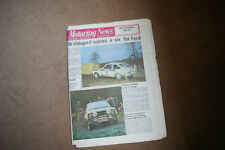 Motoring News 1 December 1977 Lombard RAC Rally Report Tim Schenken