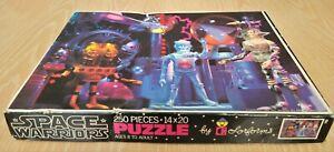 1977 Space Warriors Puzzle by Colorforms - Complete 250 Pieces - Aliens & Robots