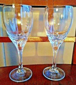 """''LA BELLE'' SCHOTT-ZWIESEL Crystal Wine Glass 7 1/8"""" LOT 2"""