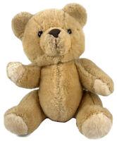 "Commonwealth Vintage Brown Teddy Bear Lush Plush  Stuffed Animal Toy Rare 12"" 6"