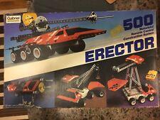 Vintage 1981 Gabriel Erector Motorized R/C Construction System 500 gm623