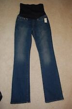 "GAP Maternity ""Perfect Boot"" Medium Wash Jeans Size 26 Reg. High Waist Band NWT"