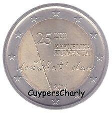 Slovenie 2016 2€ UNC 25 jaar onafhankelijkheid