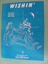 Wishin' 1952 by Clem Watts, Ben Trace, Teddy Simms
