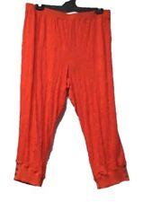 TS pants TAKING SHAPE plus sz XL/ 24 Xpress Crushed stretch wide leg tabasco NWT