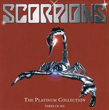Scorpions - The Platinum Collection 3CD Set (2005) EMI Records !