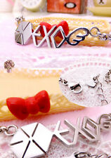 Korean Kpop Band EXO EXO-K EXO-M Titanium Steel Necklace Sehun Luhan Chanyeol