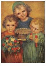 "vintage blank greeting cards  ARS SACRA Spötl ""children""2999"" 1950"