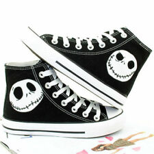 Details about  The Nightmare Before Christmas Men's Canvas Shoes Skull Jack Lum