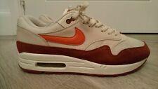 Nike air max 1 orange maroon uk 10 bw classic 180 97 87 95 1 patta 90 tn 93 rare