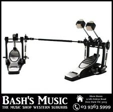 DXP Heavy Duty Double Kick Drum Pedal Bass Dual Chains Dual Beaters - NEW